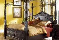 king size canopy bed ashley furniture