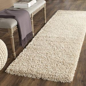 Safavieh California Premium Shag Collection SG151-1313 Beige Rug