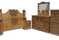 Texas Star Rustic Bedroom Set With Rope Accents Solid Wood