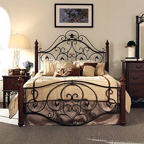 wrought iron bedroom furniture sets