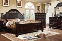 247SHOPATHOME IDF-7129CK-6PC Bedroom-Furniture-Sets, California King, Walnut