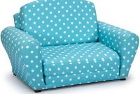 Fun Future Kids Convertible Sleepover Chair Bed - Flip Out Lounger for Slumber Parties, Gaming, Chilling - Comfortable Seat That Easily Converts to a Folding Cot - 2 Fabric Choices