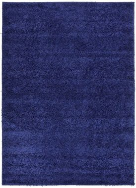 RugStylesOnline, Shaggy Collection Shag Area Rugs, Navy Blue