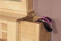 Amish Highlands Dressing Box, With Hidden Compartments
