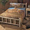 CASTLECREEK Cedar Log Bed, King