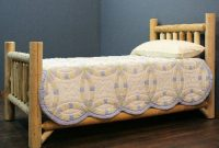 Lakeland Mills Rustic Appeal Low Bed Queen , Unfinished
