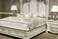 Villa di Como 4pc King Storage Panel Bedroom Set by AICO