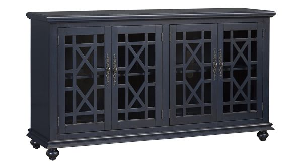 Martin Svensson Home 91005 Avalon 63 TV Stand, Avalon Blue