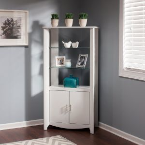 Aero Tall Library Storage Cabinet with Doors