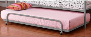 DHP Separate Trundle for DHP Metal Daybed Frame - Silver