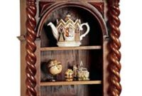 Display Cabinet - Charles II - Wall Mounted Curio Cabinet