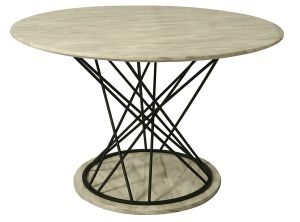 Impacterra QLJA51065808 Janette Marble Dining Table