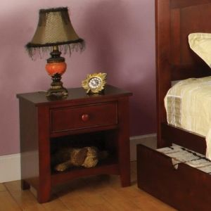 Miles 1 Drawer Nightstand Finish Cherry