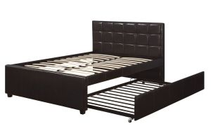 Poundex Full Bed With Trundle