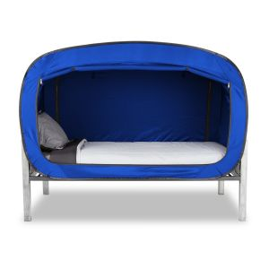 Privacy Pop Bed Tent Twin - BLUE