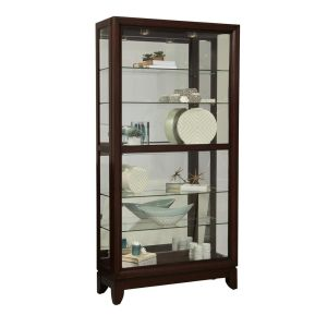 Pulaski Large Two Way Sliding Door Curio Cabinet