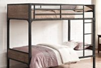 Rustic bunk beds for kids