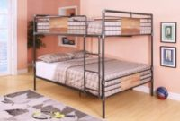 ACME-Furniture-37720-Brantley-Bunk-Bed-Sandy-Black-and-Dark-Bronze-Hand-Brushed-Queen-over-Queen