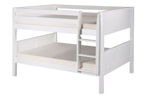 Full-Over-Full-Low-Bunk-Bed-with-Angle-Ladder-in-White-Finish