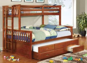 Furniture-of-America-Pammy-Twin-over-Queen-Bunk-Bed-Oak