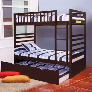 Merax-Twin-Over-Twin-Bunk-Bed-with-Trundle-in-Espresso-Finish