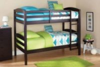 Sturdy-Mainstays-Twin-Over-Twin-Wood-Bunk-Bed-Multiple-Finishes-Espresso