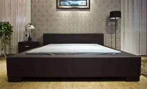 Greatime B1142 Queen Dark Brown Color Modern Platform Bed