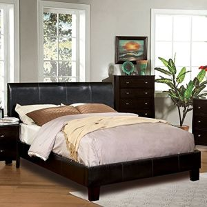 IDF-7007CK Platform Beds, California King, Espresso