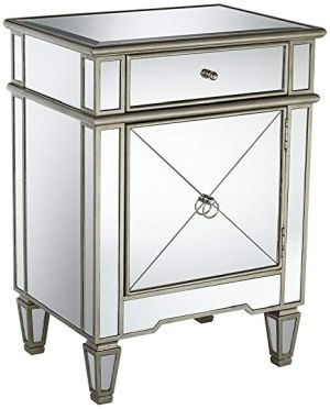 Mackenzie Wide Mirror Accent Table
