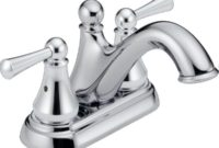 Delta Faucet Haywood 2-Handle Centerset Bathroom Faucet with Drain Assembly, Chrome 25999LF
