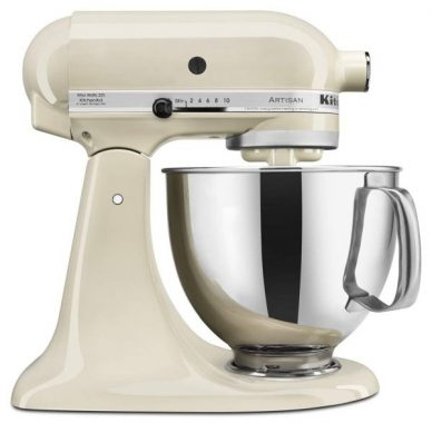 KitchenAid-KSM150PSAC-Artisan-Series-5-Qt.-Stand-Mixer-with-Pouring-Shield-Almond-Cream