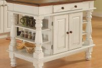 Americana Antique White Kitchen Island by Home Styles
