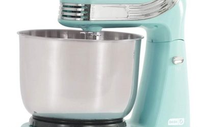 Dash-Stand-Mixer-Electric-Mixer-for-Everyday-Use-6-Speed-Stand-Mixer-with-3-qt-Stainless-Steel-Mixing-Bowl-Dough-Hooks-Mixer-Beaters-for-Dressings-Frosting-Meringues-More-Aqua