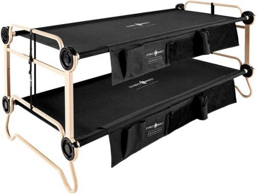 Disc-O-Bed DISCOBED 30501BO Black Large with Organizers