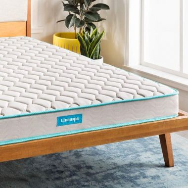 LINENSPA 6 Inch Innerspring Mattress - Twin - 3