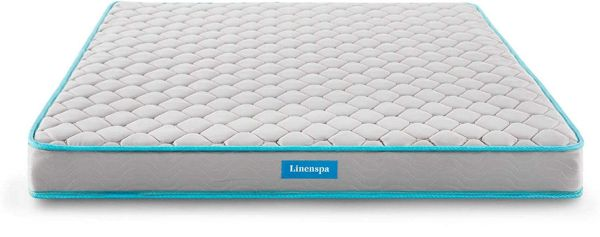 LINENSPA 6 Inch Innerspring Mattress - Twin - 5