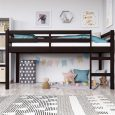 Dorel Living Milton Loft Bed, Twin, Espresso