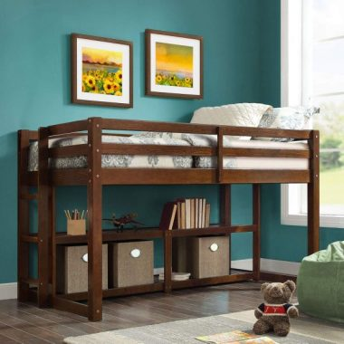 Better Homes Loft Storage Bed (Espresso) (Espresso)