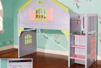 Twin Doll House Stair Step Loft