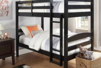 Better Homes and Gardens Converts to 2 stand-alone Twin Over Twin Wood Bunk Bed (Bed Only) in Black
