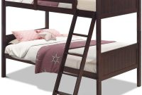 Costzon Wooden Twin Over Twin Bunk Beds Convertible 2 Individual Twin Beds for Kids Children, Solid Rubberwood Bunk Bed with Ladder and Safety Rail (Espresso)