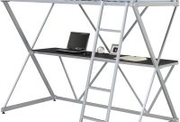 DHP 5440196 Bunk Bed, Twin, Silver