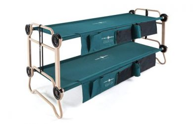 Disc-O-Bed Large with Organizers, Green