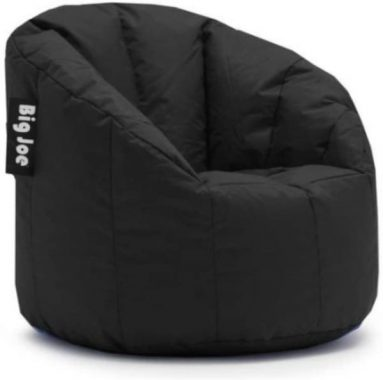 Big Joe Minoan Bean Bag Chair Multiple Colors, Provides Ultimate Comfort, Great for Any Room (Stadium Blue)