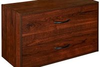 ClosetMaid 1306 Stackable 2-Drawer Horizontal Organizer, Dark Cherry