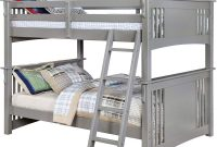 Furniture of America Spring Creek Gray Full Over Full Bunk Bed