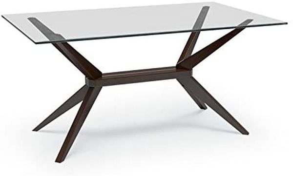 Magna Glass Dining Table, Coffee