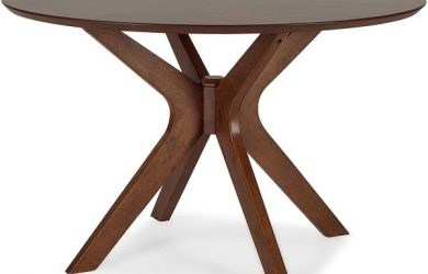 Poly and Bark Azur 47inch Round Dining Table