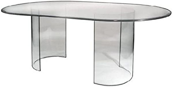 See Glass Dining Table - Base Only