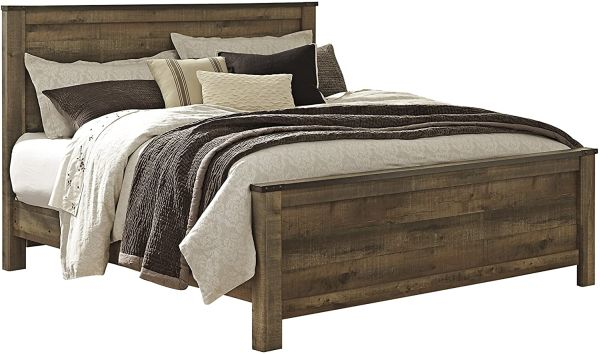 Ashley Furniture Signature Design - Trinell Bedroom Set - Casual King & Cal King Panel Bedset - Brown